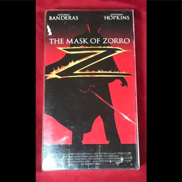 The Mask of Zorro New VHS